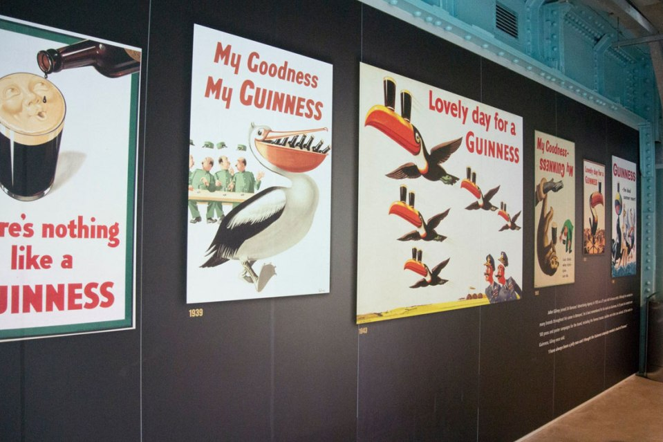 Historic Guinness Advertising